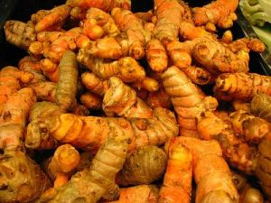 Wonderful, healing turmeric! Don't have fresh, use a dash of ground!