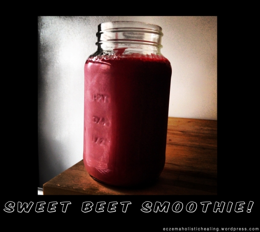 sweet beet smoothie  - eczemaholistichealing.wordpress.com
