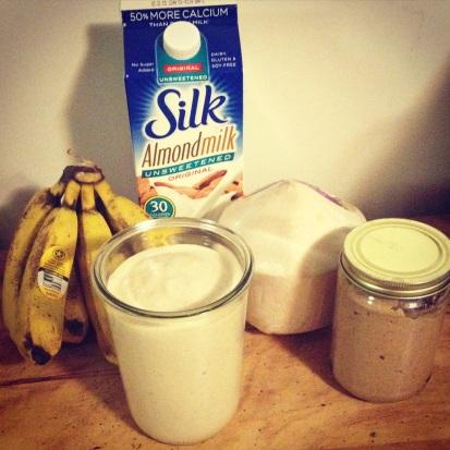 Banana Almond Coconut Shake!  - eczemaholistichealing.wordpress.com