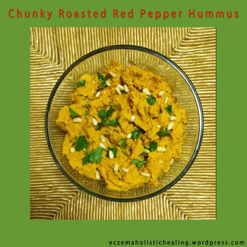 Chunky Roasted Red Pepper Hummus - eczemaholistichealing.wordpress.com