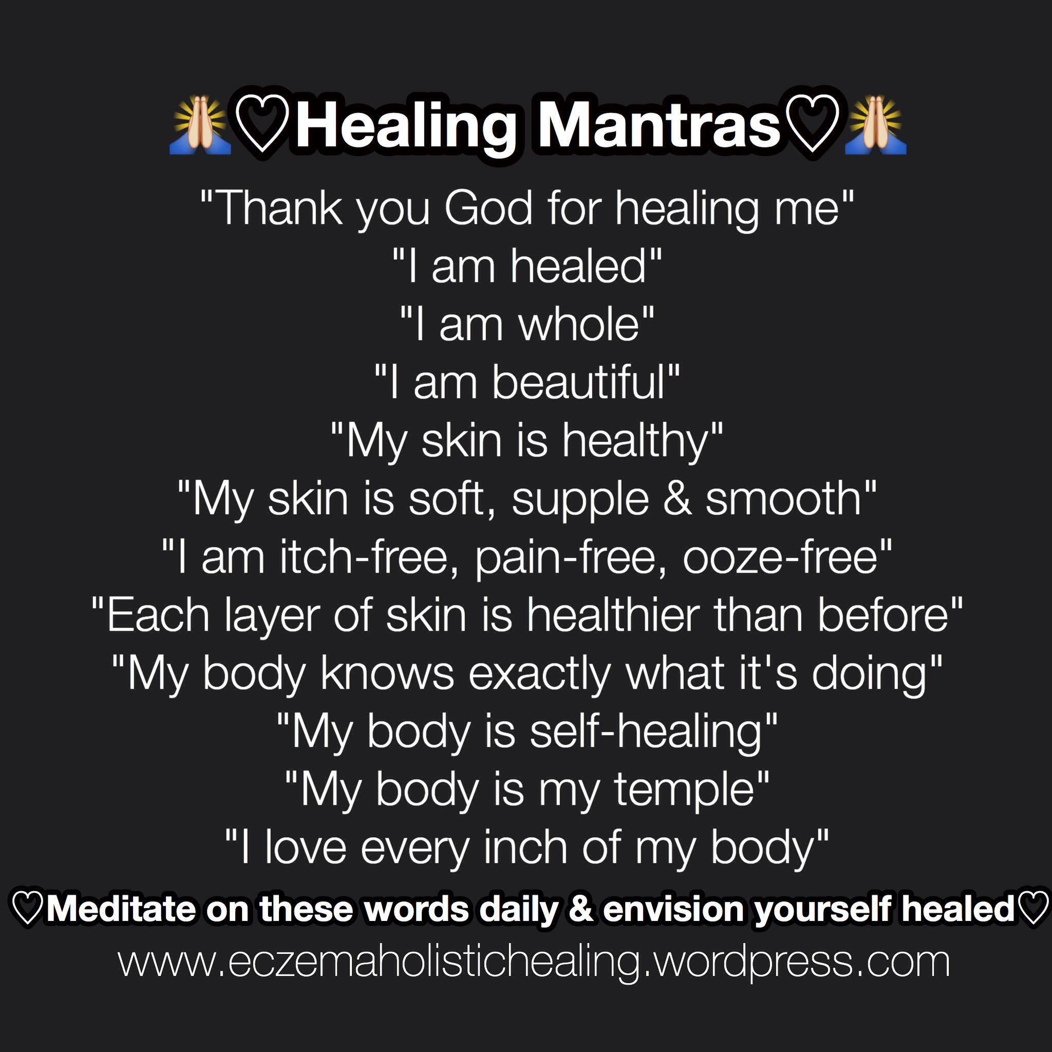 Healing Mantras – Eczema Holistic Healing