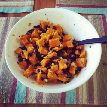 Sweet Potato & Black Bean Salad