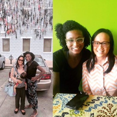 So wonderful to hang out with this lovely lady!